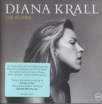 LIVE IN PARIS BY KRALL,DIANA (CD)